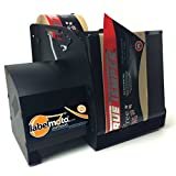 START International LDX8050 High-Speed Electric Label Dispenser for Up to 8'' Wide and 12'' Long Labels, Black