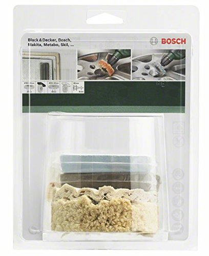 Bosch DIY 5 tlg. Profi-Polier-Set (fü r Bohrmaschinen) BOSCH PROFESSIONAL 2609256556