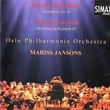 Brahms: Symphony No. 4- Joachim: Ouverture To Heinrich IV