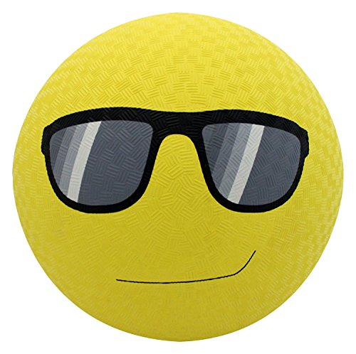 Baden Rubber Sunglasses Emoji Playground Ball, 8.5