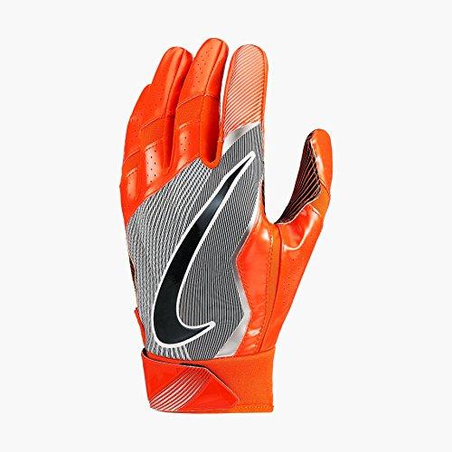 Nike Vapor Jet 4 American Football Handschuhe Receiver - Team Orange/Vivid Orange/Black (Large)
