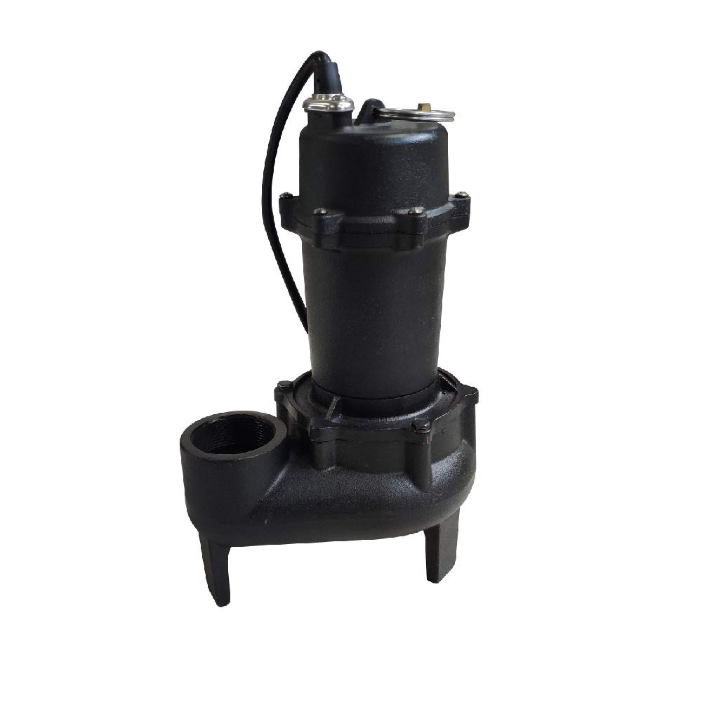 AQUAPRO 1/2 HP Cast Iron Sewage Pump with Tethered Float Switch by AQUAPRO (Image #2)