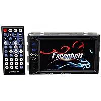 TI-623B - Farenheit In-Dash 2-DIN 6.2 LCD Touchscreen DVD Receiver with Bluetooth