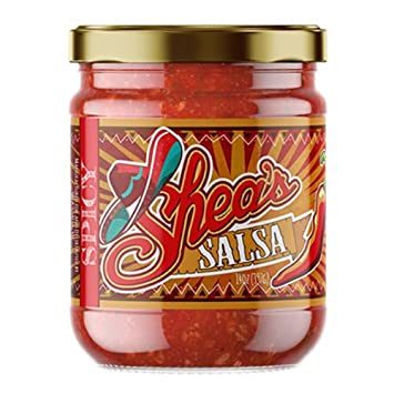 Sheas Salsa – The Unapologetically Addictive Dip! Authentic HOT Salsa for Mexican Dishes, Dips