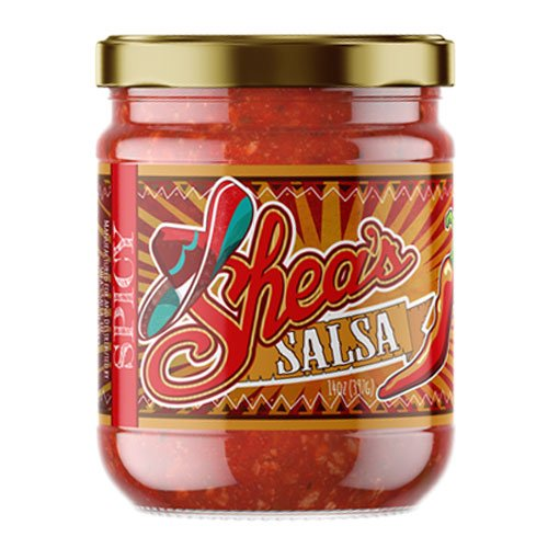 Shea's Salsa – The Unapologetically Addictive Dip! Authentic HOT Salsa for Mexican Dishes, Dips for Tostitos Corn Chip or Even Sauce on Grilled Cheese! Chips and Salsa Will Never Be The Same Again!