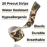 Gold BJJ Precut Kinesiology Tape - Waterproof 20