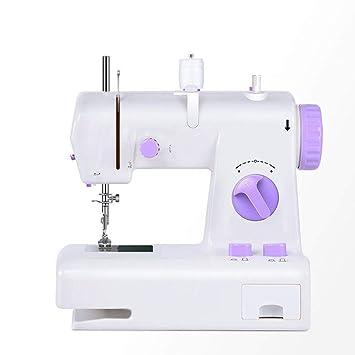 GSKTY Máquina de coser Hogar pequeño escritorio multifunción máquina de coser eléctrica 22 * 12 *