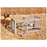 Precision Pet Chicken Coop Extension Pen, 55.12 by 27.36 by 27.56-Inch (Discontinued by Manufacturer)