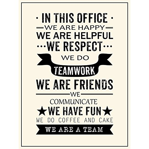 Amazon Inspirational Quotes Office Posters Prints We Are A Team Delectable Team Quotes