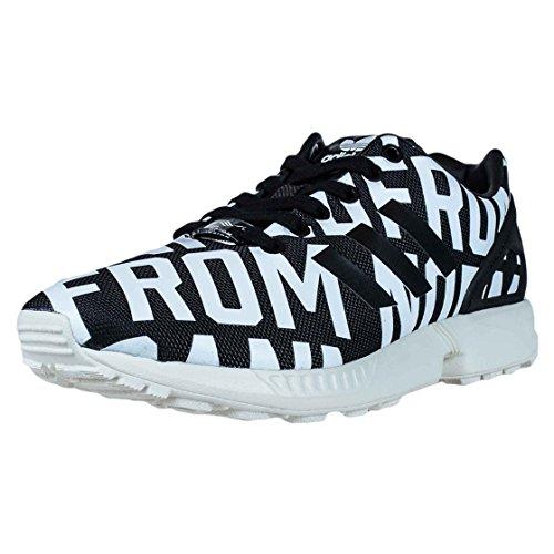 Adidas Originali Da Donna Zx Flux Nero Bianco Rita Ora B35311 Da Donna Running