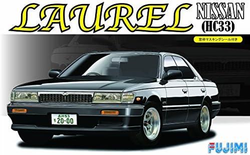 フジミ模型 1/24 インチアップシリーズ No.181 日産 ローレル メダリスト クラブS HC33 窓枠マスキングシール付