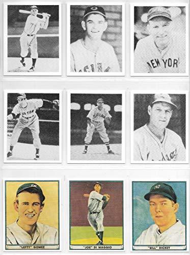 1939 & 1941 Play Ball Baseball Complete Reprint Sets