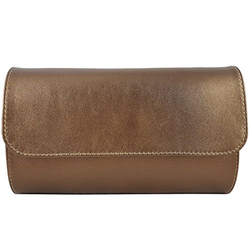 Freyday in Bronze Made femme Pochette pour Italy Métallique CqFgwC7B5