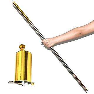 JIADIAN Magic Tricks Cane, Metal Magic Wand, Magic Trick Magic Accessori per Professional Magician Stage Close-up