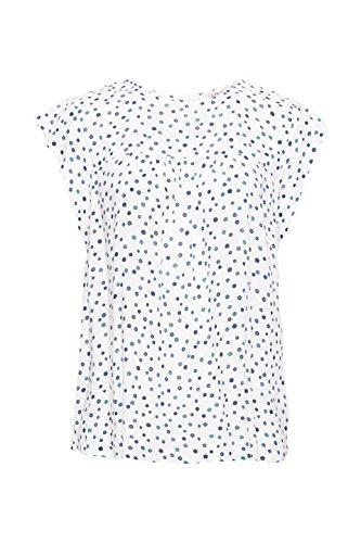 Esprit Blouse Multicolore 110 Femme White Off rrgTq