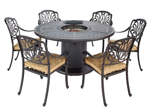 amalfi 4 seater garden dining set with parasol. hartman amalfi gas dining set 4 seater garden with parasol p