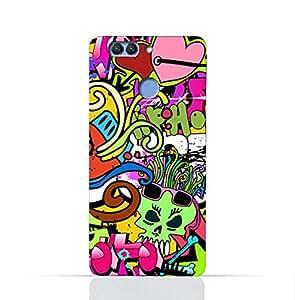 Huawei Nova 2 TPU Silicone Case With Graffiti Hip Hop 2 Design