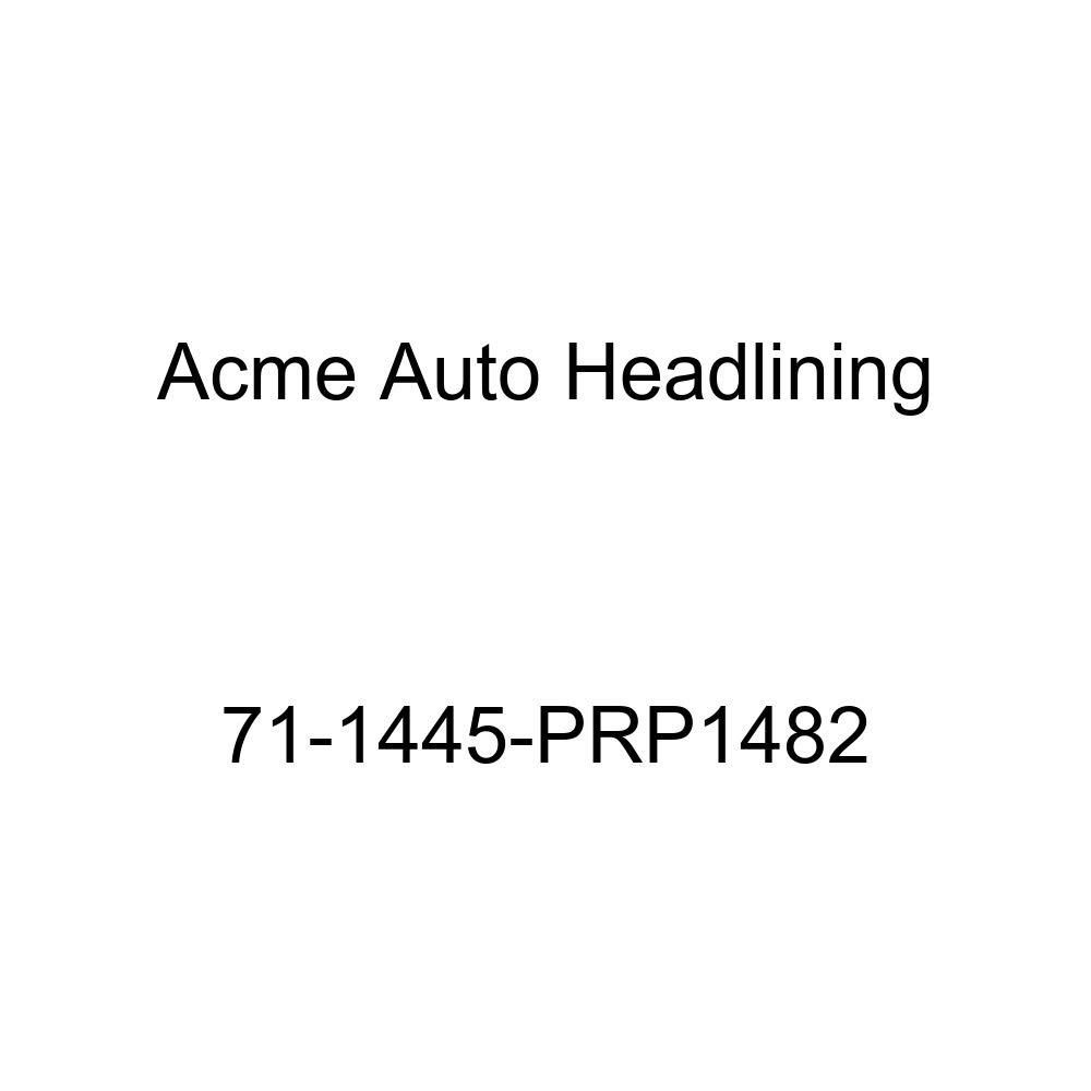 Acme Auto Headlining 71-1445-PRP1482 Medium Blue Replacement Headliner 6 Bow 1971 Chevrolet Chevelle 4 Door Sedan