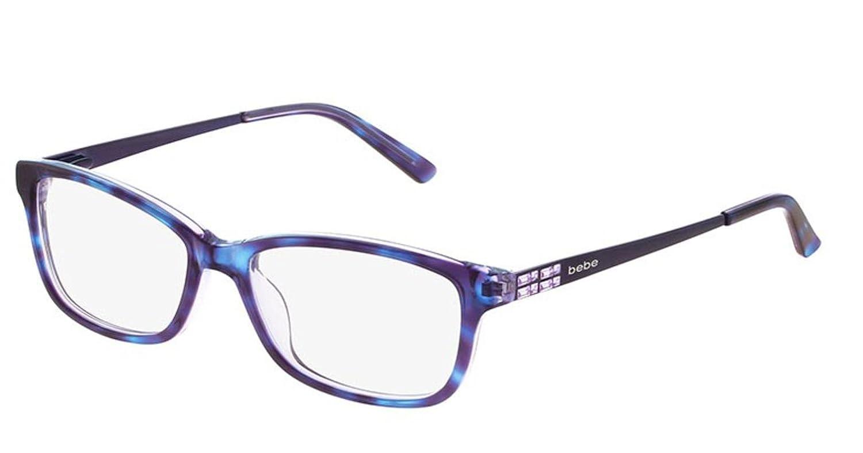Eyeglasses bebe BB5084 BB 5084 Plum Tortoise at Amazon Men\'s ...