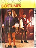 McCalls 2248 Mens Renaissance Tudor Robin Hood Theater Costume Pattern Size Small & Medium