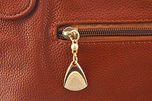 ZENTEII Handbag Women Women Brown ZENTEII Synthetic Faux Leather pSSvOWZdwq