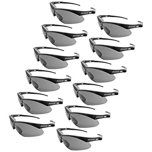 (JORESTECH Eyewear - Safety Protective Glasses Case of 12 (Smoke))