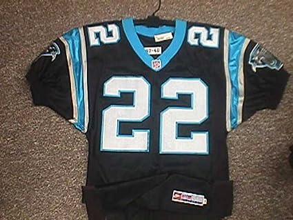 2c33d0b8 Lenny McGill Carolina Panthers 1995-2000 Home Game Worn Jersey at ...