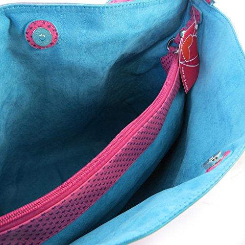 95eab0e20fe Designer bag 'Agatha Ruiz De La Prada'fuschia - little hearts ...