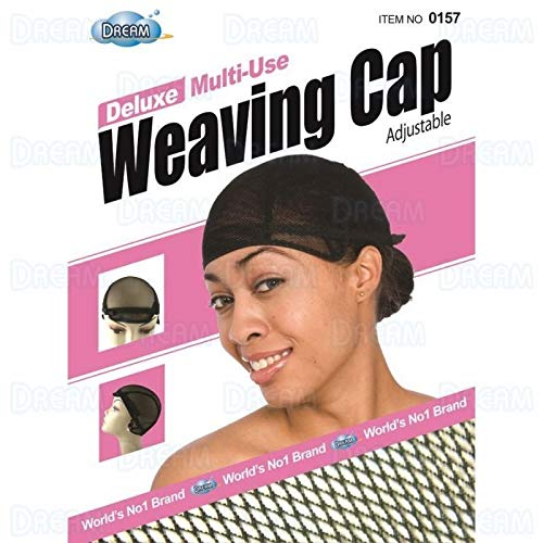 Dream Deluxe Multi Use Weaving Cap Black #0157