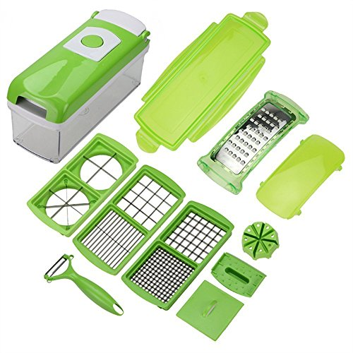 MuchBuy Vegetable Fruit Peeler Cutter Chopper Nicer Grater