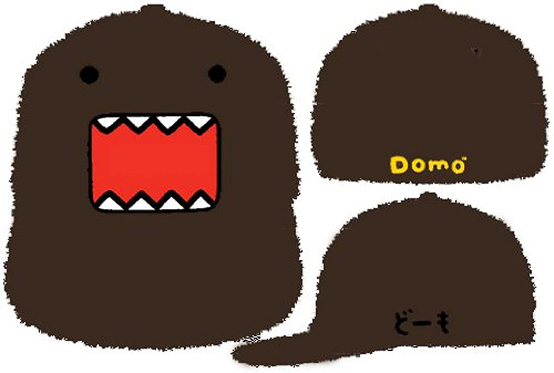 cb7627a01 Amazon.com: Domo Japanese Cartoon Animation Furry Fur Snapback Snap ...