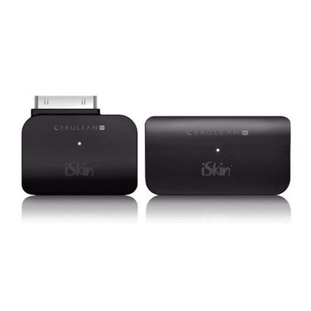 iSkin CERULEAN TX + RX - Bluetooth 2.0 Transmitter and Receiver Set for iPod