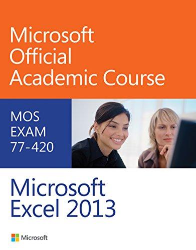 - Exam 77-420 Microsoft Excel 2013
