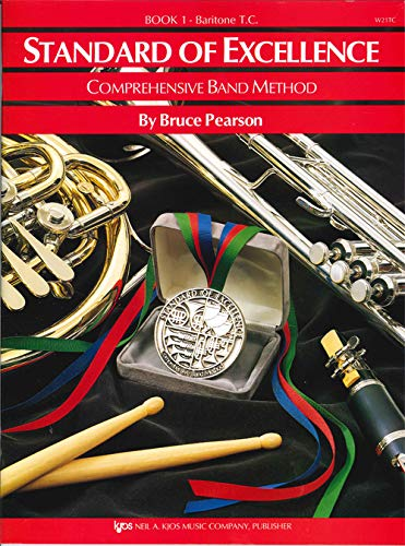 W21TC - Standard of Excellence Book 1 Baritone T.C. (Standard of Excellence - Comprehensive Band Method)
