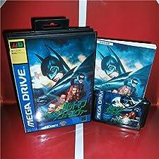 16 Bit Sega MD Game - Batman Forever Japan Cover with Box and Manual for MD MegaDrive Genesis Video Game Console 16 bit MD card - Sega Genniess , Sega Ninento , Sega Mega Drive