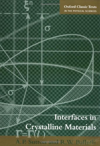 Check expert advices for interfaces in crystalline materials?