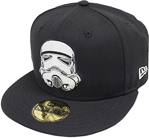 New Era Storm Trooper Cap 59fifty Basic Fitted Limited Edition Star Wars Mens (New Stormtrooper)