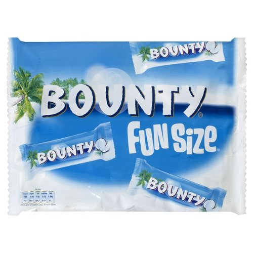Bounty:milk Chocolate Covered Coconut Fun Size (2) Uk Import Bounty Milk Chocolate Bar