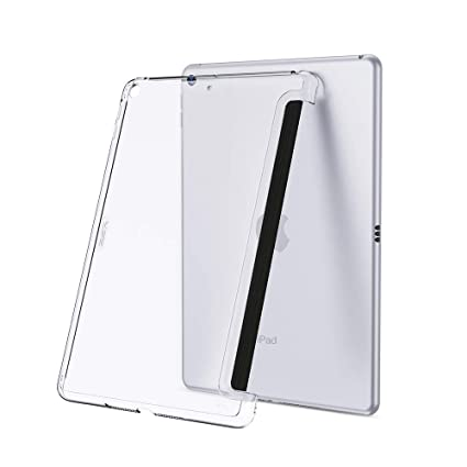 ESR Clear Rear Case Fits with Apple Smart Cover for iPad Mini 5 (7.9