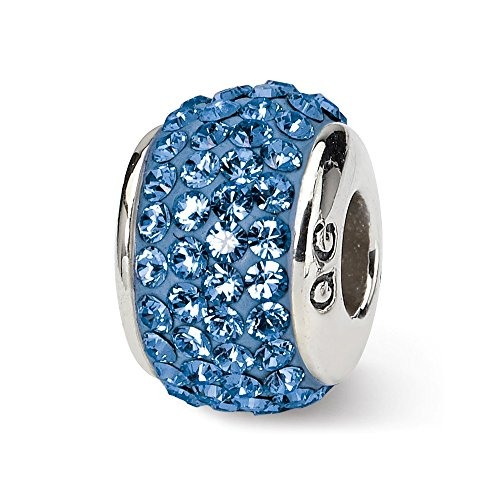 Multi Color Murano Glass Ring - 925 Sterling Silver Charm For Bracelet September Full Swarovski Crystal Bead Stone Birthstone Fine Jewelry Gifts For Women For Her