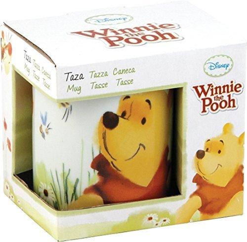 Disney Pooh Porcelain Mug Set, 300ml, Set of 2, Multicolour
