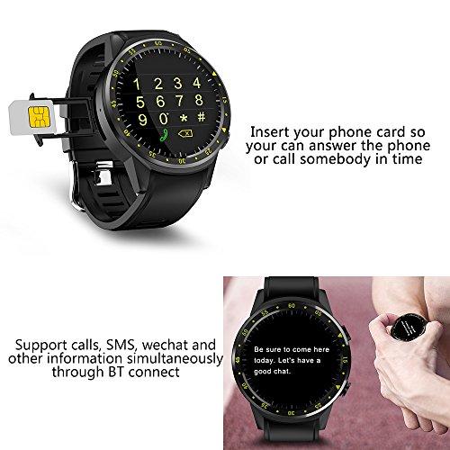 Lixada Pantalla Táctil Inteligente Reloj GPS Digital Reloj ...