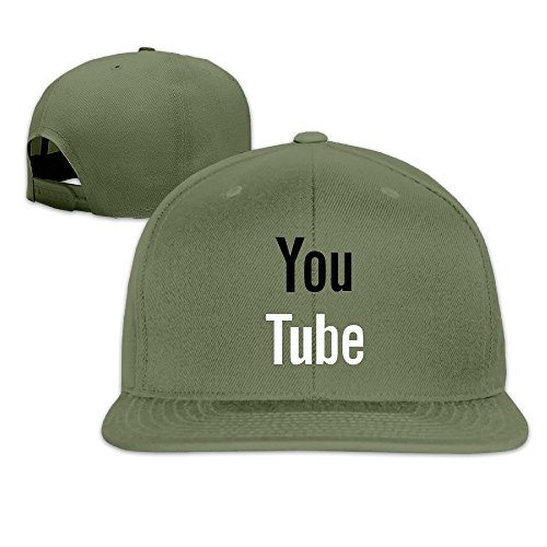 [Youtube Logo Fitted Hat Cap Women] (Sheriff Hats For Sale)