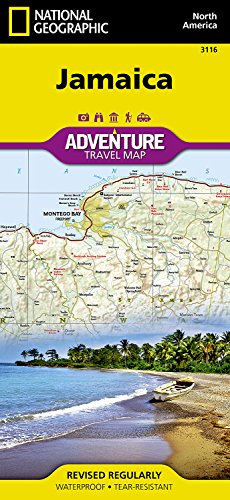 Jamaica (National Geographic Adventure Map)