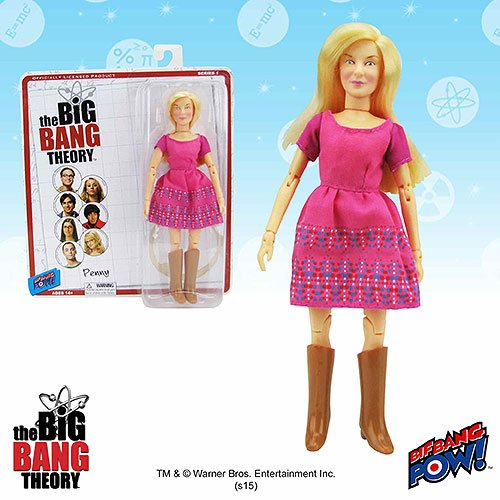 The Big Bang Theory Penny 8-Inch Action Figure