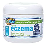 TruKid Easy Eczema Cream - Soothing and Healing Relief Therapy for Sensitive Skin, Unscented, 4 oz