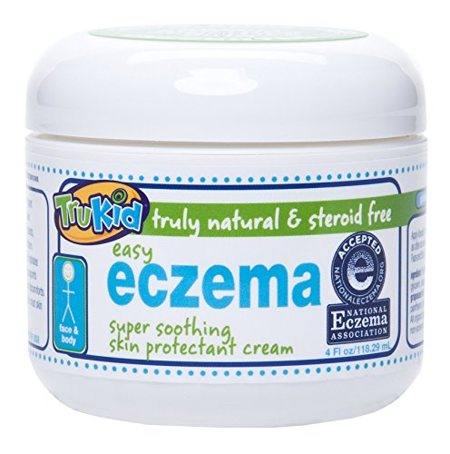 TruKid Easy Eczema Cream - Soothing and Healing Relief Therapy for Sensitive Skin, Unscented, 4 oz by TruKid