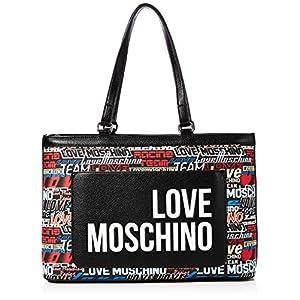 Love Moschino Jc4089pp1a, Borsa Tote Donna, Argento (Argento), 12x26x40 cm (W x H x L)