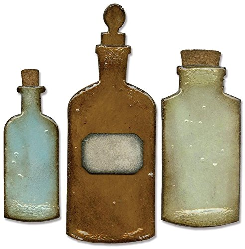 Sizzix 658715 Bigz Die, Apothecary Bottles, 5.5 x 6 - Inch]()