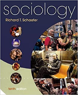 Sociology tenth edition richard t schaefer amazon books fandeluxe Gallery